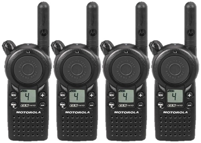 CLS1410 4 Pack Radio Bundle
