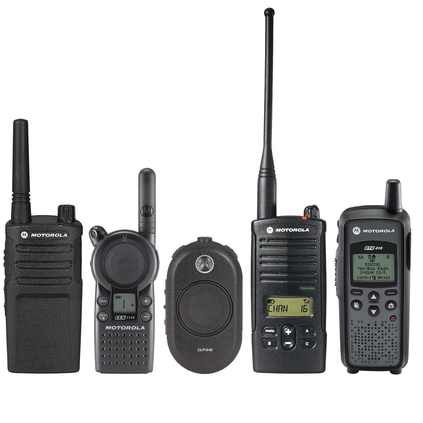 Motorola Business Walkie Talkies or Talkabout Walkie Talkies?