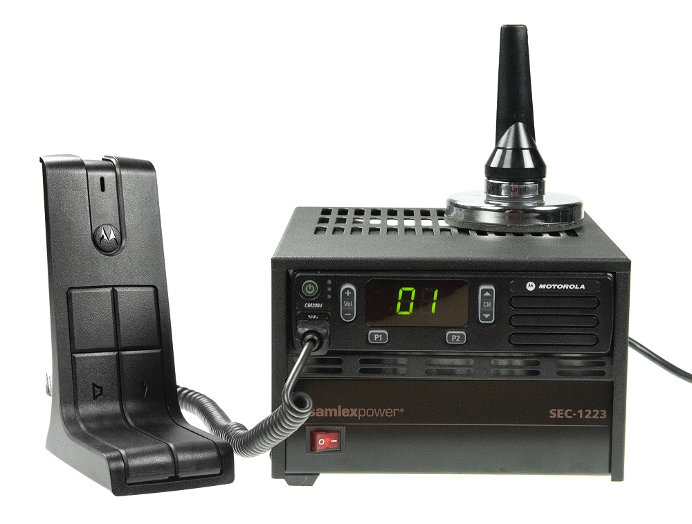 Motorola CM200d Two Way Radio Base Station