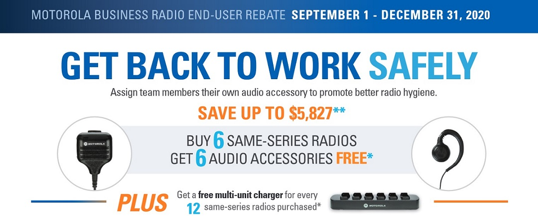 Motorola Two Way Radio Rebate