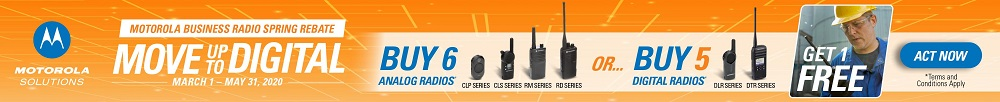 Motorola Two Way Radio Rebate Spring 2020
